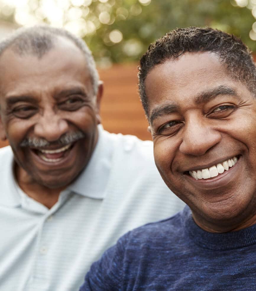 Happy residents of Mesa RV Park